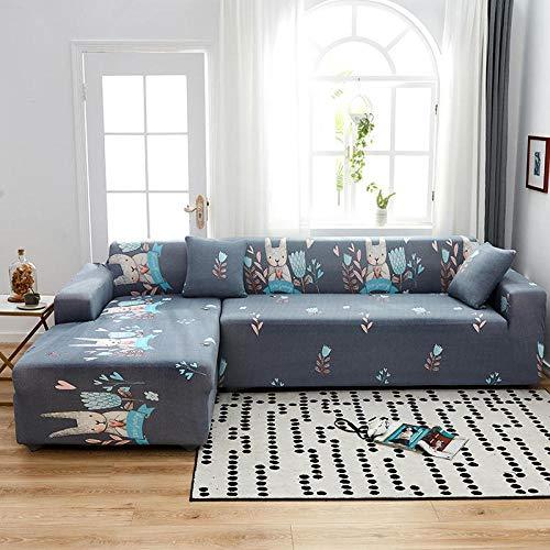 Allenger Cubierta para sofá con Cuerda de fijación,Full-Covering Elastic Sofa Cover, Universal Cushion Cover for All Seasons, Furniture Protection Cover-Color 12_145-185cm