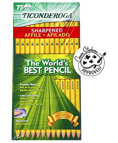 TICONDEROGA Pencils, Wood-Cased ...