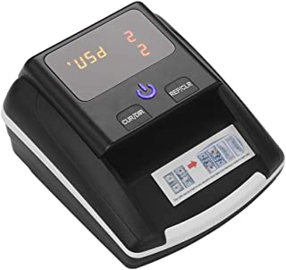 Small Banknote Bill Detector Denomination Value Counter UV/MG/IR Detection with Battery Counterfeit Fake Money Currency Ca...