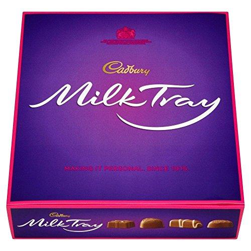Cadbury Milk Tray - Caja de bombones - 360 g -...