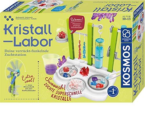KOSMOS 643638 Kristall-Labor Experimentierkasten für Kinder