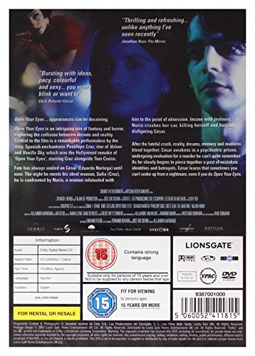 Open Your Eyes [DVD]