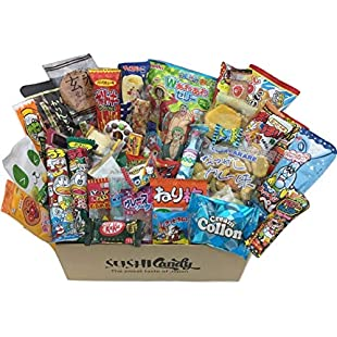 40 Japanese sweets & snack set POPIN COOKIN with Japanese kitkat and other popular candy:Donald-trump