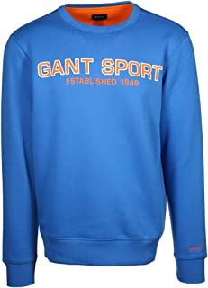 GANT Men's sweatshirt. - Blue - XL