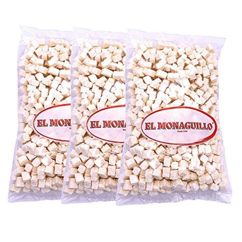 Getrocknete Kokosnuss Stücke 3x 1 kg - natürliche Premium Qualität - glutenfrei - vegan - Vitaminreich - von den Niederländischen Antillen