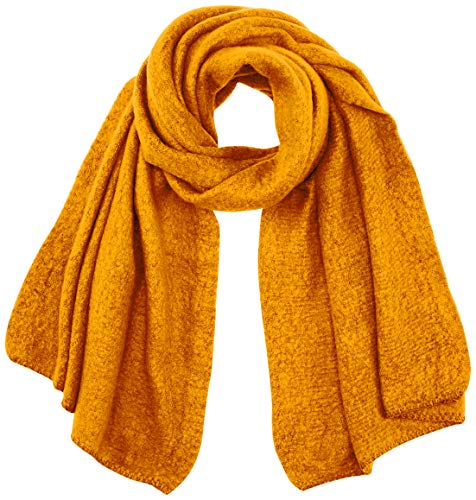 ONLY Damen ONLLIMA KNIT LONG SCARF CC Mode-Schal, Golden Yellow, ONE SIZE