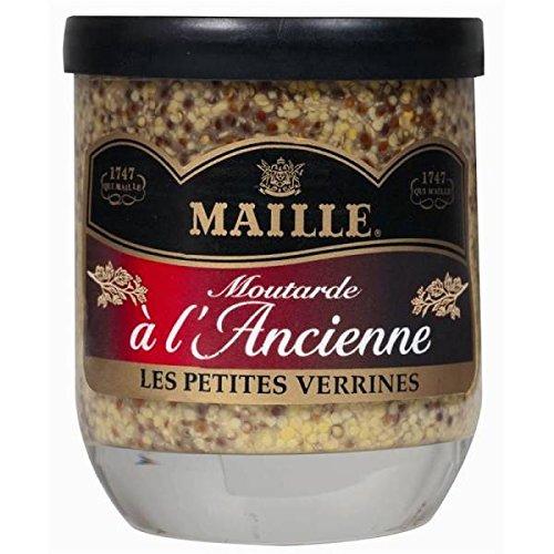 Maille senape al vecchio barattolo 160g - ( Prezzo unitario ) - Maille moutarde à l'ancienne verrine 160g