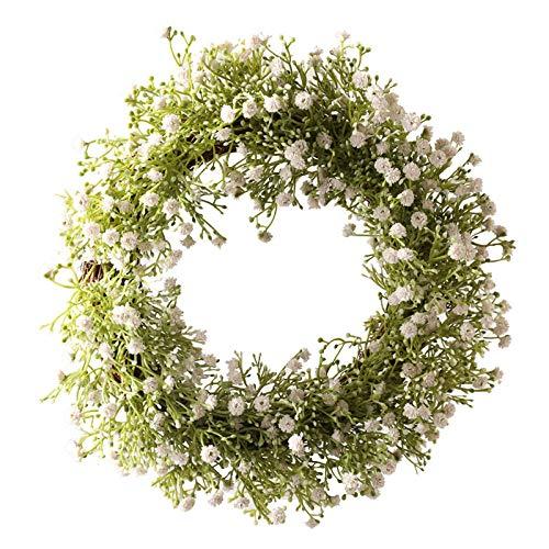 YYCVVH Planta Artificial Colgante Gypsophila paniculata Hojas Verdes para Colgar en el hogar, jardín, Boda, Fiesta, decoración 6 Palos