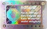 320 unidades – 3D hologramas sello 40 x 25 mm plata brillante – sello de retorno sello de seguridad sello de calidad etiqueta etiqueta etiqueta etiqueta etiqueta etiqueta adhesiva