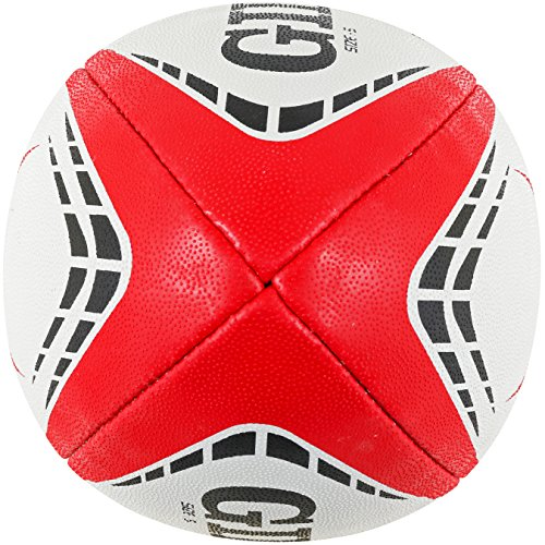 Gilbert Unisex's G-TR4000 Trainer Ball, Red, Size 5