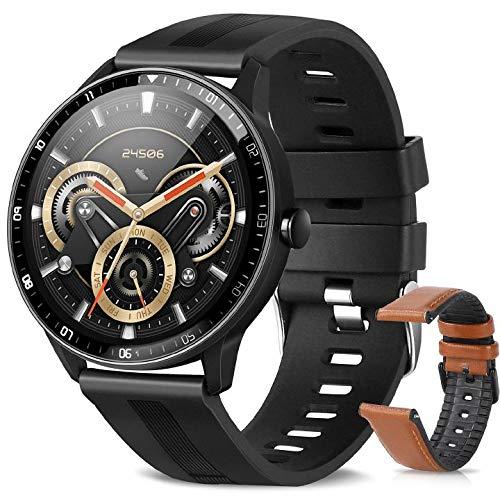 ZStarlite Smart Watch, Reloj Inteligente A Prueba de Agua IP67 para Hombres, 1.3 Pulgadas con Ritmo Cardíaco, Caloría, Sueño, GPS, Control de Musica, Pulsera de Actividad Inteligente con iOS Android