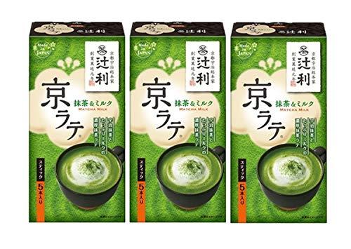 TsujiToshi Kyoto Latte Matcha & Milk 5PX3 Stück