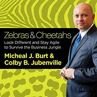 Zebras and Cheetahs audiobook cover art