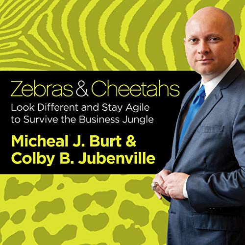 Zebras and Cheetahs audiobook cover art