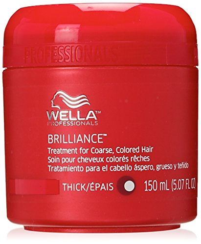 Wella Coarse Colored Hair Brilliance Treatment for Unisex, 5.07 Ounce