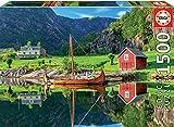 Educa- Barco Vikingo Puzzle, 1500 Piezas, Multicolor (18006)