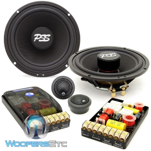 Check Out This ES-62iM - CDT Audio 6.5 190W RMS 2-Way Inverted Magnet Component Speakers System
