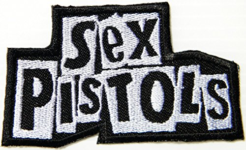 SEX PISTOLS Music Band Logo Embroidered Sew Iron on Patch Patchs