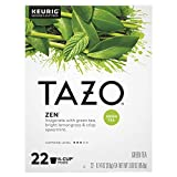 Tazo Zen K-Cup Pods For a Calming Tea Beverage Green Tea Moderately Caffeinated tea 22 ct
