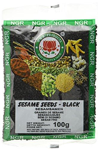 Ngr Sesamsaat, schwarz, 100g (1 x 100 g Packung)