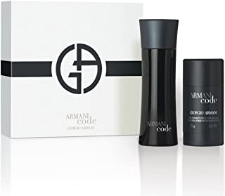 Giorgio Armani Code Eau De Toilette Spray for Men's 2 Pieces Set