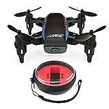 Momola JJRC H53W mini repliable poche drone mini FPV Quadcopter selfie 480p WiFi caméra Hover mode sans tête