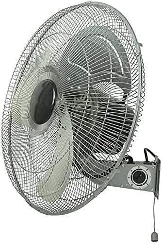 Ventilador de pared montado en la pared ventilador eléctrico de la industria de metal ventilador de pared / de almacén taller grande volumen de aire ventiladores de pared / ventilador práctico de ahor