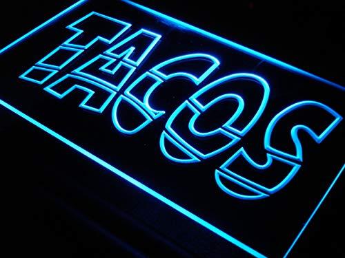 ADV PRO Enseigne Lumineuse i093-b Mexican Tacos Reklame Schild NR Neon Light Signs