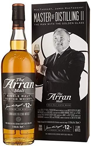 The Arran Malt 12 Years Old MASTER of DISTILLING II James MacTaggart Whisky (1 x 0.7 l) 22463