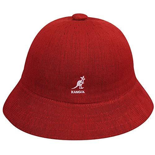 Kangol Unisex Cappello estivo Tropic Casual rosso, Caps/Mützen:XL