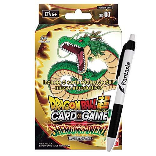 Fantàsia Shenron's Advent - Mazzo Introduttivo Dragon Ball Super (IT) + Penna