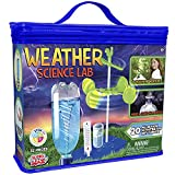Be Amazing! Toys Weather Science Lab - Kids Weather Science Kit with 20 All Season Science Projects - Educational STEM Science Kits for Boys & Girls - Scientific Meteorology Toys for Children Age 8+