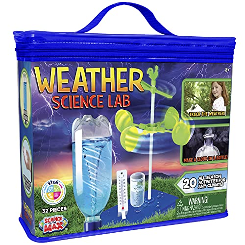 Be Amazing! Toys Weather Science Lab - Kids Weather Science Kit with 20 All Season Science Projects...