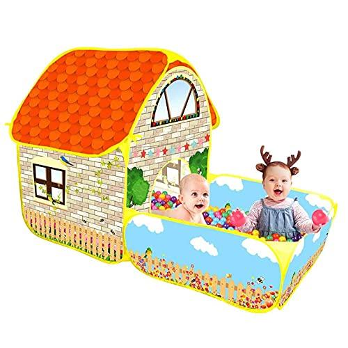 SHWYSHOP Casitas de Juegos para Interiores y Exteriores para niños, Tiendas de campaña para niños, Habitaciones portátiles para bebés y niños pequeños, para Juegos de decoración de dormitorios