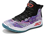 GJRRX Basket Hautes Homme Femme Montante Chaussure Lumineuse de Basketball Running Gym Chaussure de Sport Homme Sneakers 36-45