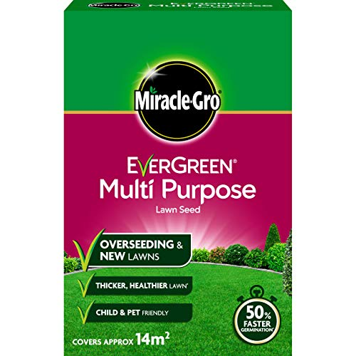 Miracle-Gro EverGreen Multi-purpose Grass Seed 420g - 14m2