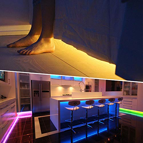 32M(16Mx2) Tira LED RGB, NOVOSTELLA Luces LED Habitacion Decorativas 24V 960 LEDs Tiras Luces Adhesiva Multicolor SMD5050 con RF Control Remoto de 44 Teclas, Decoración Hogar Techo Escaparate Muebles