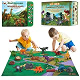 Product Image of the Li'l-Gen Dinosaur Toys w/ Interactive Sound Book and Activity Play Mat for Boys...