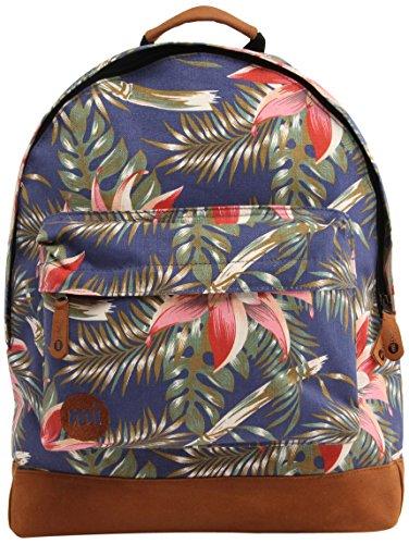 Mi-Pac Palm Floral Rucksack, 17 Liter, Marineblau 740326-002