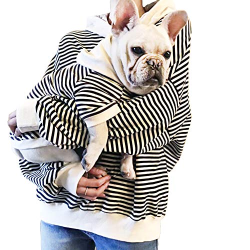 """Family Clothes for Dog Pitbull Dog Clothes Shirt for PaPa and Mama - Mom and Pet Shirt are Sold Separately(Only for Parents-(Bust:60""""), Black)"""