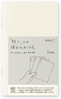 Midori MD Notebook Light B6 Slim (Lined) 3 pcs/Pack