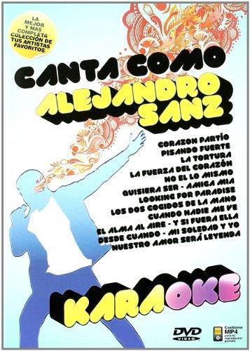 Canta Como Alejandro Sanz [DVD]