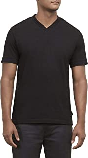 Kenneth Cole New York Men's Short Sleeve V-Neck Shirt
