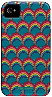 Case-mate Jessica Swift - Preeti Bounce Funda Multicolor - Fundas para teléfonos móviles (Funda, Apple, iPhone 4/4s, Multicolor)