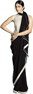 Best chiffon printed sarees with border Reviews