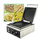 HYDDNice Commercial Electric Crepe Maker Machine 8.7'/22cm Pancake Baker Crepe Maker 1750W Heating...
