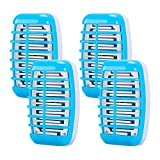 Shootingstar Bug Zapper Indoor Plug in, Indoor Mosquito Killer for Home, Electric Mosquito and Gnat Zapper Trap Lamp Eliminates Flying Pests 4 Pack