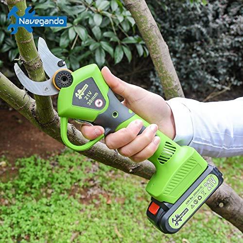 Navegando Professional Pruner Electric Pruning Shears Tree Branch Flowering...
