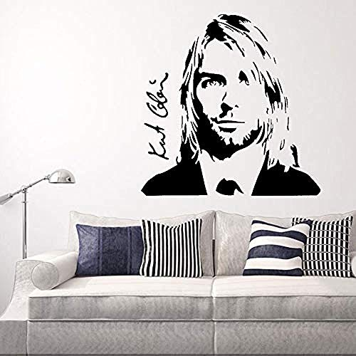 55x95cm cantante pop estadounidense música rock calcomanía etiqueta de la pared etiqueta de diseño personalizado