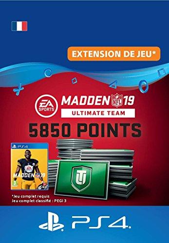 Madden NFL 19 Ultimate Team 5850 Points Pack - 5850 Points DLC | Code Jeu PS4 - Compte français